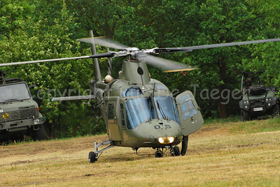 The Agusta A-109 helicopter in use with the Belgian Army.