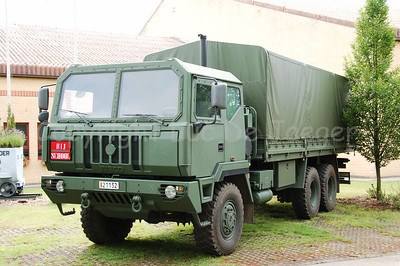 The new Iveco M250 8 ton truck will replace the MAN 4T trucks.