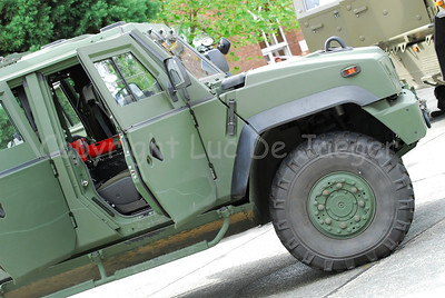 The Iveco LMV replaces the VW Iltis in the Belgian army.