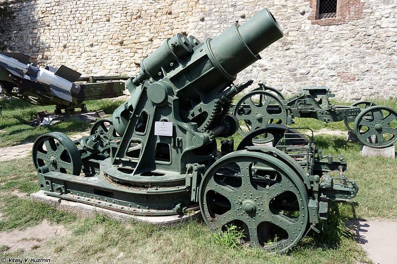 305-мм мортира Шкода обр. 1911 г. (305mm Skoda Mod.1911)