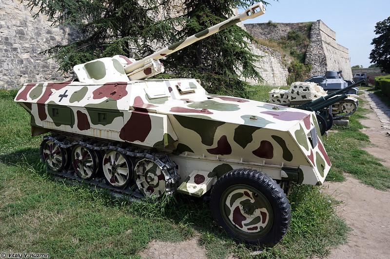 Бронетранспортер Sd.Kfz.250 с противотанковой пушкой Pak 38 L/60 (Sd.Kfz.250 with Pak 38 L/60)