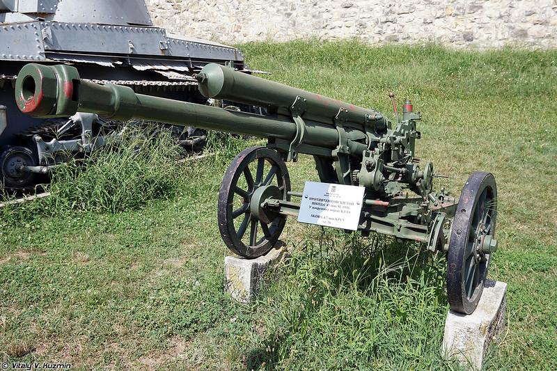 47-мм противотанковая пушка P.U.V. vz. 36 (47mm kanon P.U.V. vz. 36)