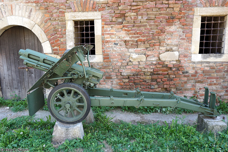 75-мм полевая гаубица Obice 75/18 образца 1935 г. (75mm Obice 75/18 Mod.35)