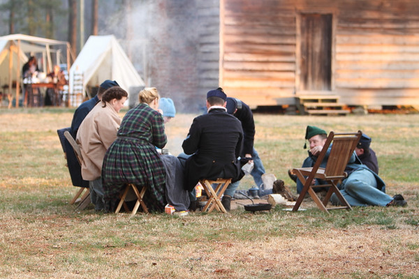 145th Civil War Re-Enactment - Bentenville