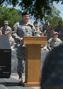 GEN Casey delivers his remarks