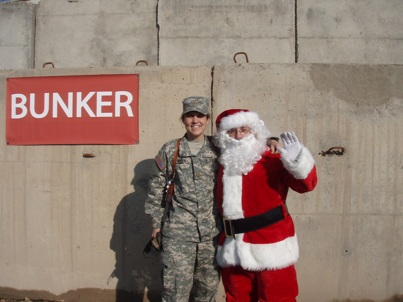 """Yes Virginia, There is a Santa Claus  -- Even in Baghdad!!!!"""