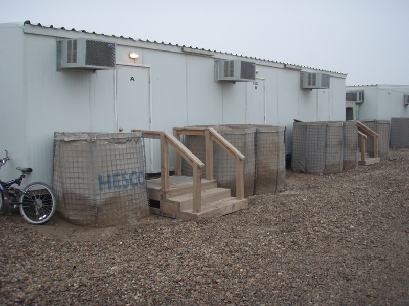 Beth's redneck haven, blast walls removed