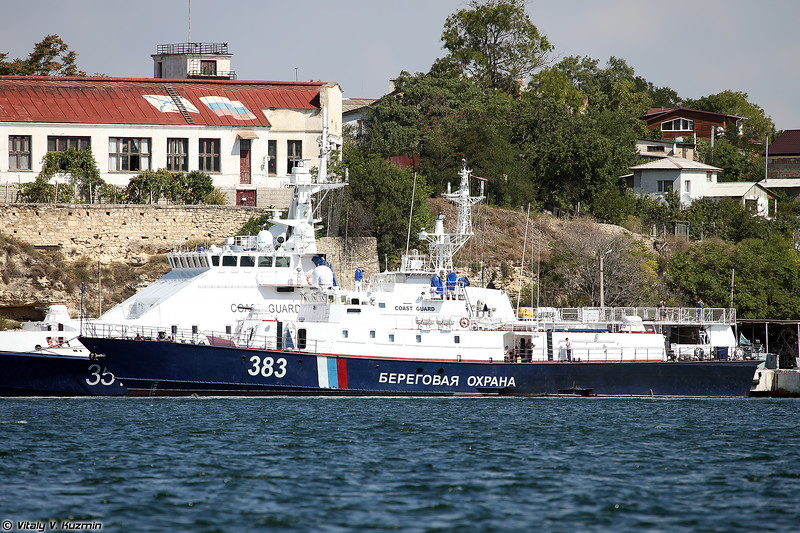 ПСКР-927 проекта 10410 (PSKR-927 patrol boat, Project 10410)