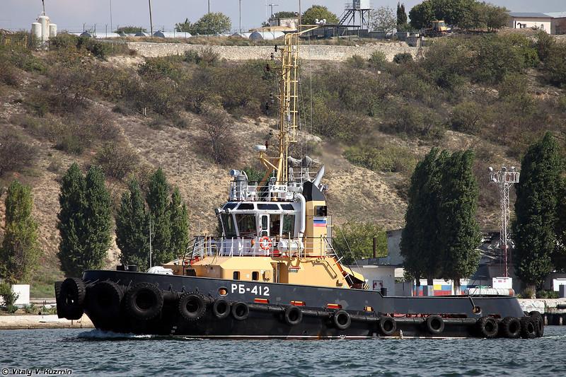 Рейдовый буксир РБ-412 проекта 90600 (RB-412 harbour tug, Project 90600)