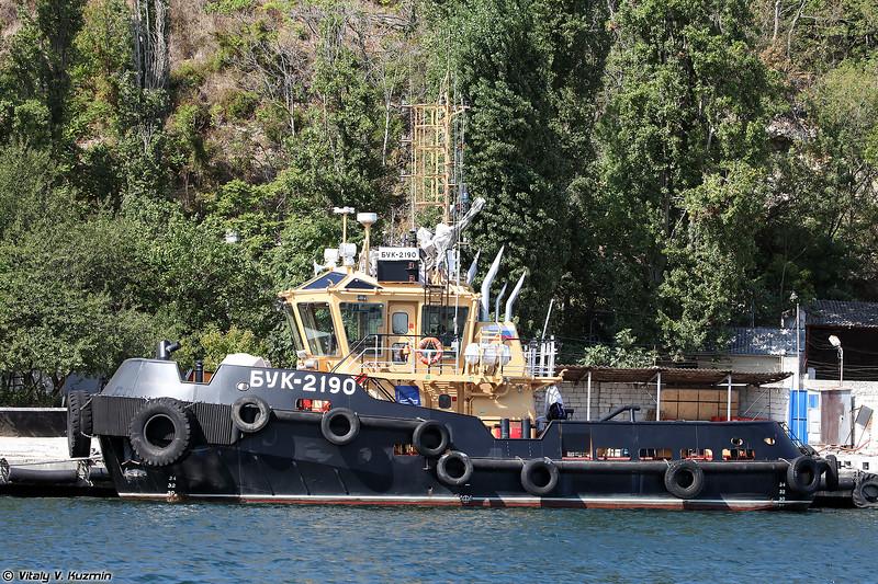Буксирный катер БУК-2190 проекта 04690 (BUK-2190 tugboat, Project 04690)
