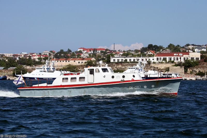 Рейдовый катер РК-1287 проекта 371 (RK-1287 boat, Project 371)