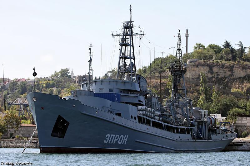 Спасательное судно ЭПРОН проекта 527М (EPRON rescue and salvage ship, Project 527M)