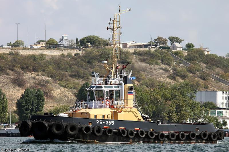 Рейдовый буксир РБ-365 проекта 90600 (RB-365 harbour tug, Project 90600)