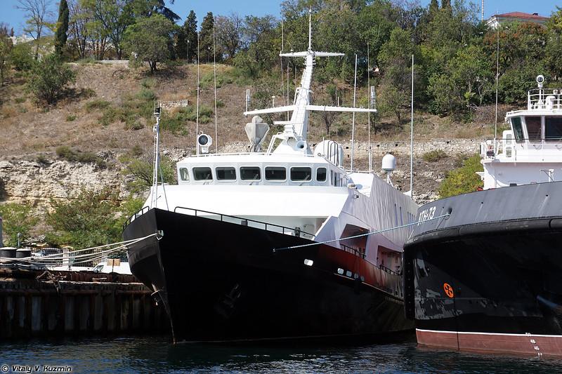 Катер связи КСВ-2155 проекта 1388НЗ (KSV-2155 communication boat, Project 1388NZ)