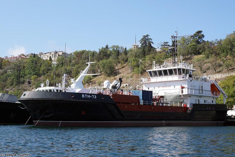 Малый морской танкер ВТН-73 проекта 03180 (VTN-73 tanker and support vessel, Project 03180)