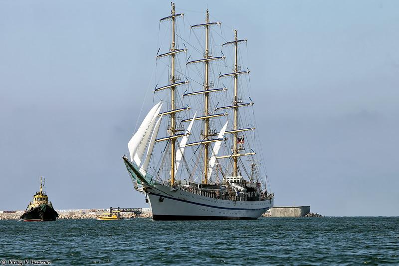 Учебный корабль Херсонес (Khersones training tall ship)