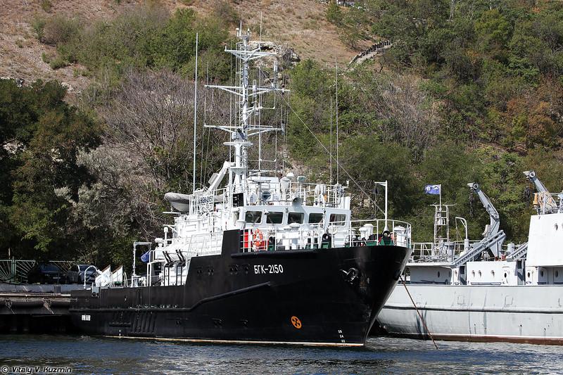 Большой гидрографический катер БГК-2150 Юрий Белов проекта 19920 (BGK-2150 Yury Belov hydrographic boat, Project 19920)