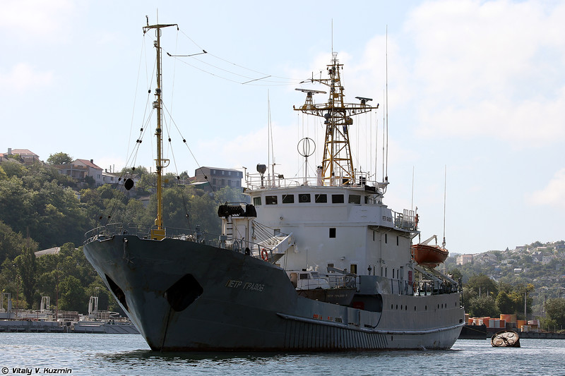 Судно экологического контроля Петр Градов проекта 872Э (Petr Gradov environmental control ship, Project 872E)