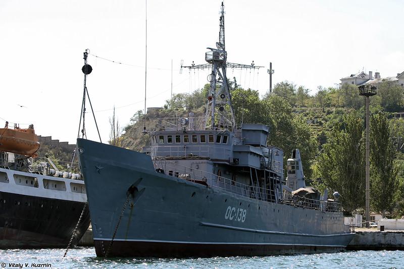 Опытовое судно ОС-138 проекта 1236 (OS-138 trials ship, Project 1236)