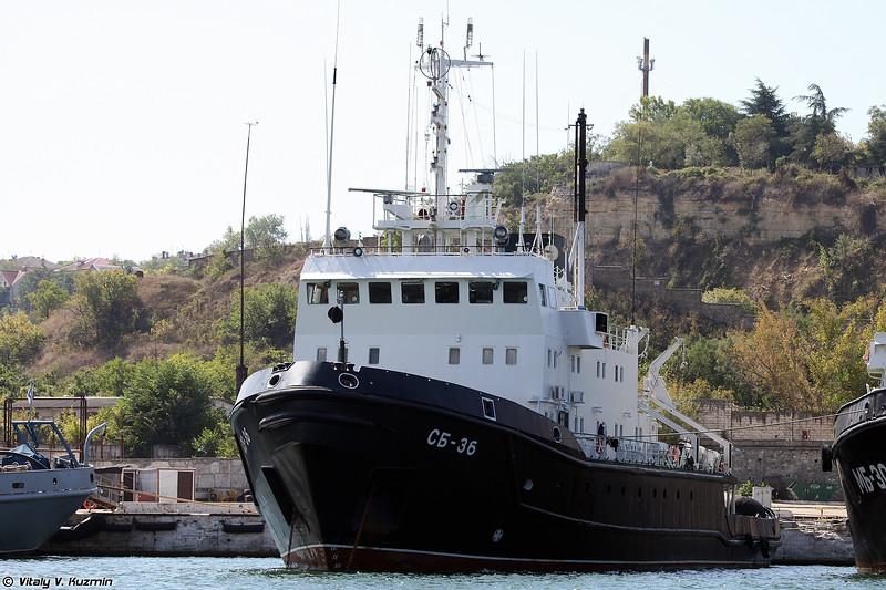 Спасательно буксирное судно СБ-36 проекта 714 (SB-36 salvage tug, Project 714)