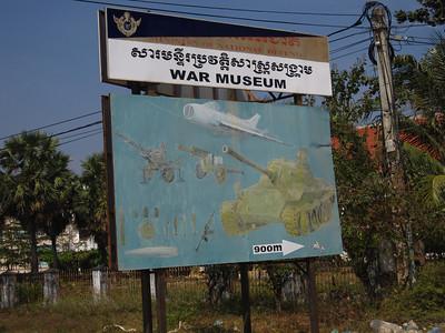 Cambodian War Museum 2009