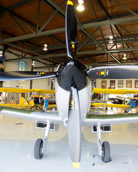 Spitfire from the front