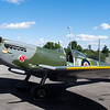 British WWII Spitfire.  They said this is the most authentic Spitfire in the world