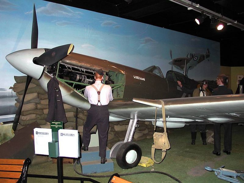 WWII Spitfire --- 1766_CRW_01_2002-10-07
