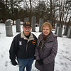 Debbie and Mike Kendrick, members of the Chelmsford Veterans Memorial Park Committee, are seeking to add two additional stones once they have enough veterans' names, and financial support. (SUN Julia Malakie)