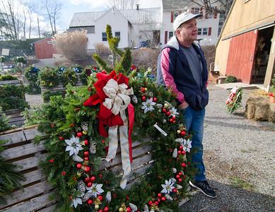 Christmas trees for veterans