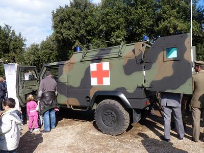 Lince versione ambulanza