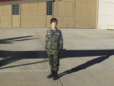 2008 - Tony's first O-Flight at Buckley AFB - Gradecki gets ready