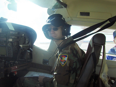 2008 - Tony's first O-Flight at Buckley AFB - Co-Pilot training