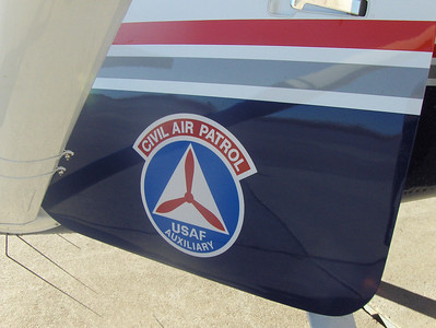 2008 - Tony's first O-Flight at Buckley AFB - plane insignia