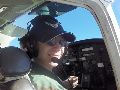 "2008 - Tony's first O-Flight at Buckley AFB - Tony said ""This is the best day of my life"""