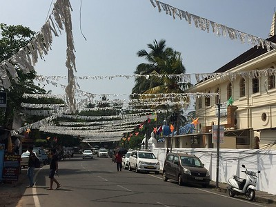 Cochin and Alleppey India