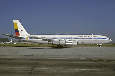 Fuerza Aerea Columbiana Boeing 707-373C FAC 1201 (msn 19716) BOG (Christian Volpati). Image: 903865.