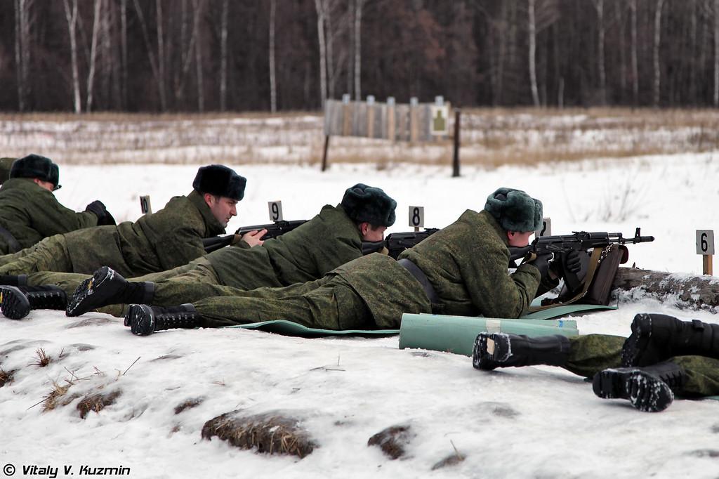 Состязания на лучшего командира разведроты ВДВ (Competition of Airborne Troops reconnaissance companies commanders)
