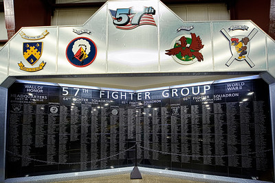 57th Fighter Group Wall of Honor