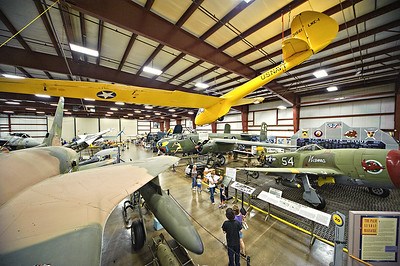 Military Exhibit Hanger