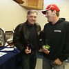 """""""2018 Contribute to the Troops"""" at Lowell VFW Post 662. Jim Reynolds of Manchester, N.H., left, and his friend Jim Robillard of Lowell.  (SUN/Julia Malakie)"""