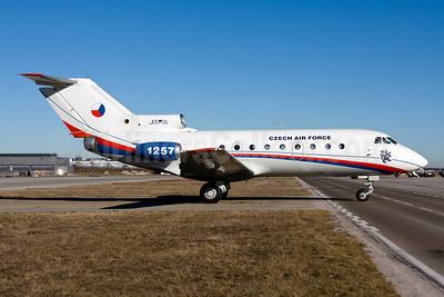 Czech Air Force Yakovlev Yak-40K 1257 (msn 9821257) MUC (Gunter Mayer). Image: 954314.