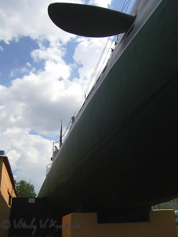 Подводная лодка Д-2 Народоволец (D-2 Narodovolets submarine museum)