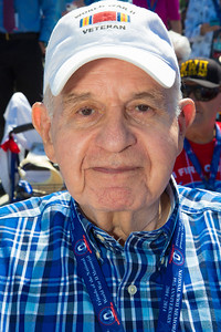 Army Staff Sgt. Lester Rosenthal of North Baltimore MD landed on Omaha Beach.