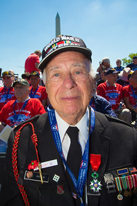 World War II veteran Herman Zeitchik of Silver Spring MD earned the French Legion of Honor Medal by landing at Normandy, helping liberate Paris, and holding back Nazis at the Battle of the Bulge. He also helped liberate starving prisoners at the Dachau concentration camp.