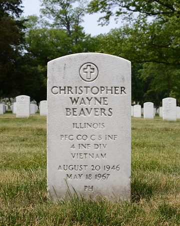 Arlington National Cemetery, Arlington, Virginia - May 16, 2015 - Christopher Wayne Beavers - Section 12 - Site 2033