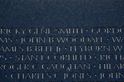The Vietnam Veterans Memorial Wall - Washington, DC - May 14, 2015 - John Braxton Woodall - Panel 19E - Line 2