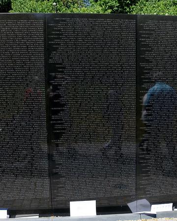 The Vietnam Veterans Memorial Wall - Washington, DC - May 14, 2015 - Ronald Michael Nowak - Panel 32W - Line 54