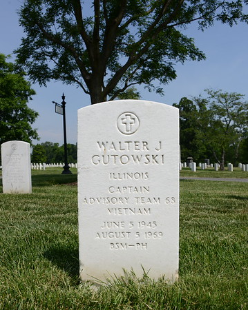Arlington National Cemetery, Arlington, Virginia - May 16, 2015 - Walter Joseph Gutowski - Section 46 - Site 1411-D