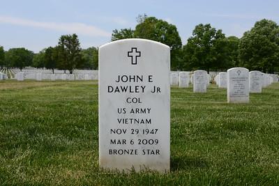 Arlington National Cemetery, Arlington, Virginia - May 16, 2015 - John E. Dawley - Section 60 - Site 8825